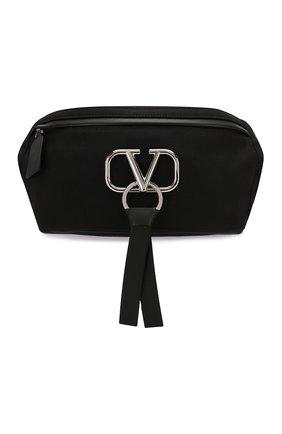 Текстильная поясная сумка Valentino Garavani VRing | Фото №1