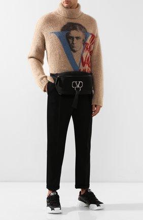 Текстильная поясная сумка Valentino Garavani VRing | Фото №2