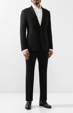 Мужской шерстяной костюм Z ZEGNA темно-серого цвета, арт. 625701/2XPYGX | Фото 1