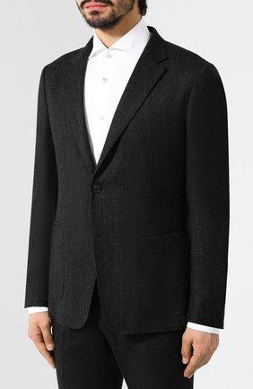 Мужской шерстяной костюм Z ZEGNA темно-серого цвета, арт. 625701/2XPYGX | Фото 2