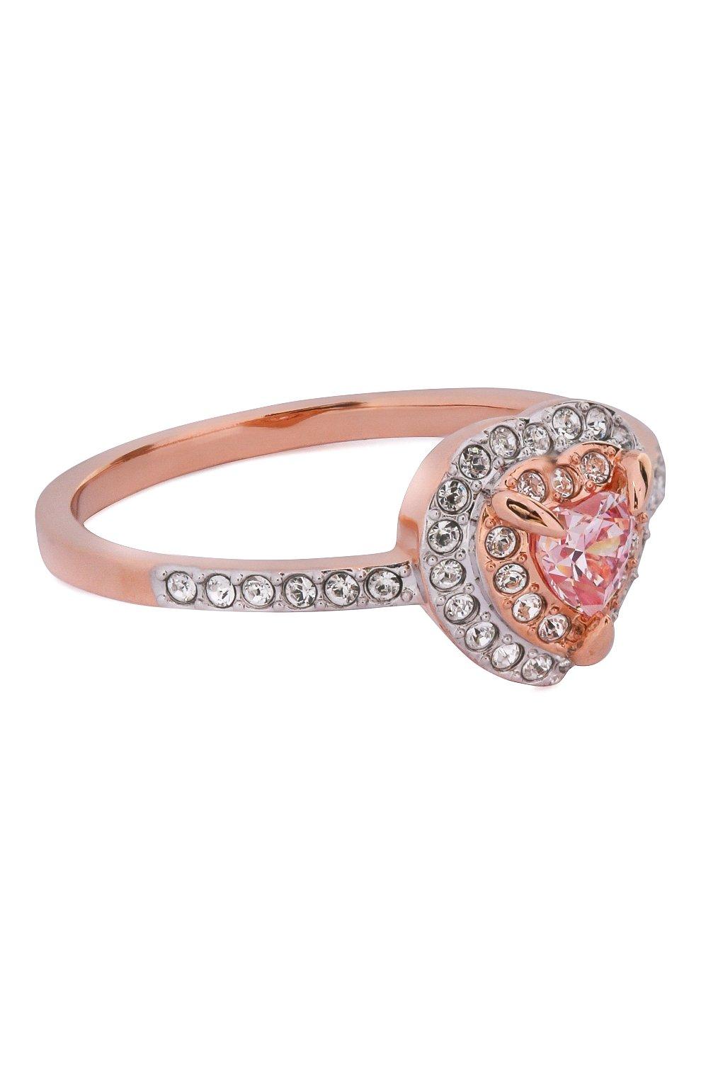 Женское кольцо one SWAROVSKI золотого цвета, арт. 5439315   Фото 1