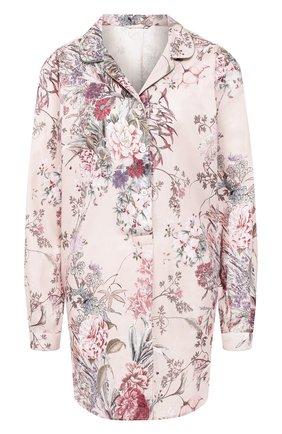 Женская хлопковая сорочка ZIMMERLI светло-розового цвета, арт. 5172-39051 | Фото 1