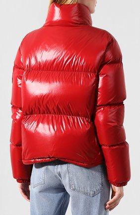 Женский куртка moncler rimac MONCLER красного цвета, арт. E2-093-45915-00-C0067   Фото 4