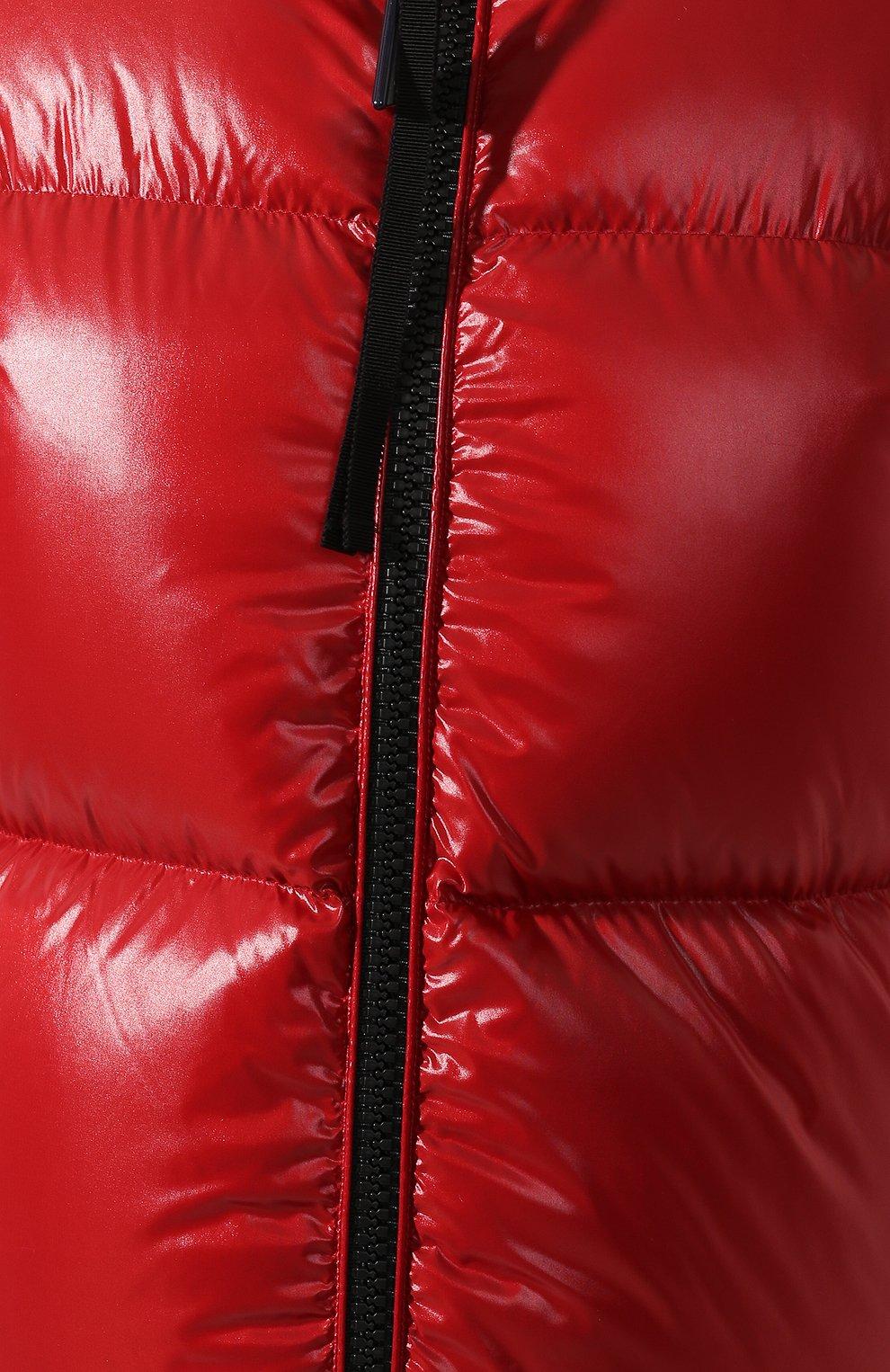 Женский куртка moncler rimac MONCLER красного цвета, арт. E2-093-45915-00-C0067   Фото 5