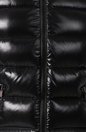 Женский пуховая куртка badyfur MONCLER черного цвета, арт. E2-093-46314-25-C0061 | Фото 5