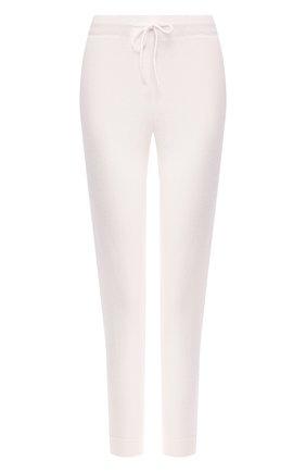 Женские кашемировые брюки-скинни LE KASHA белого цвета, арт. KENYA00 | Фото 1