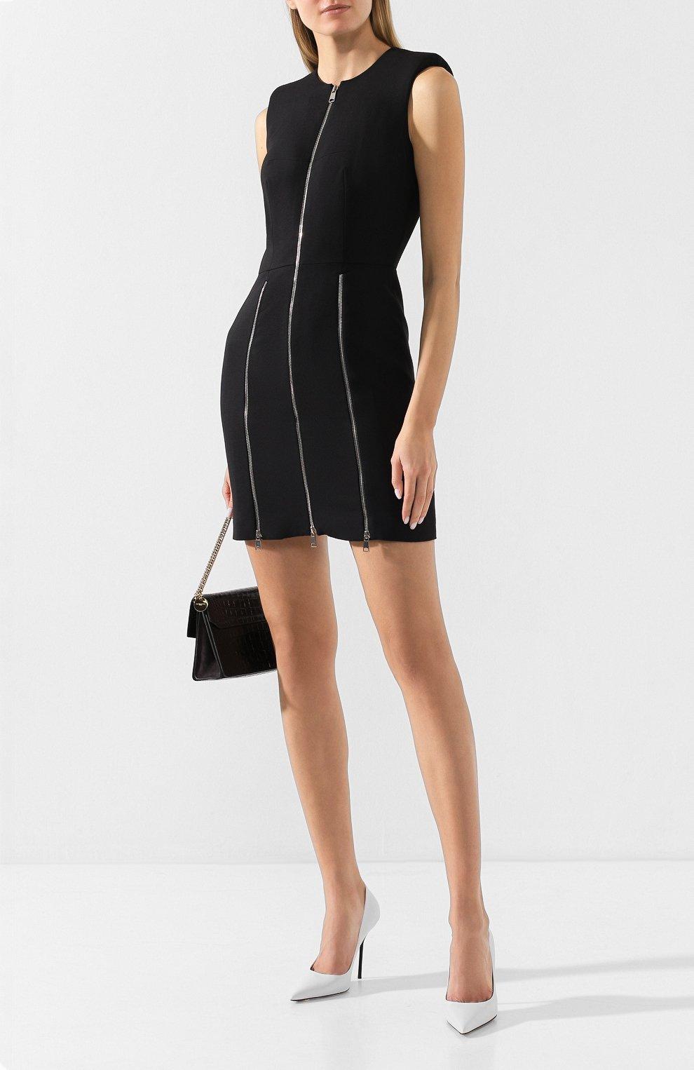 Платье из смеси шерсти и шелка | Фото №2