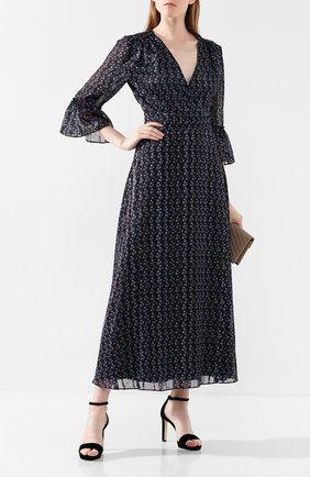 Женское платье с принтом PAUL&JOE черного цвета, арт. KANT0INETTE | Фото 2