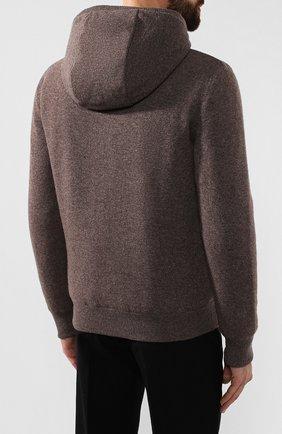 Кашемировая куртка с меховой подкладкой | Фото №4
