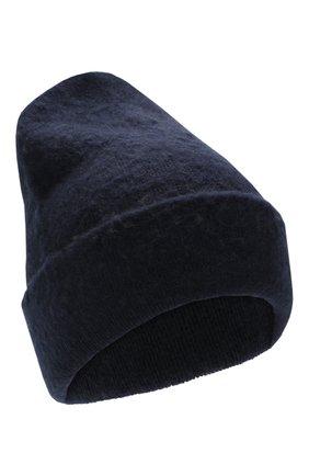 Мужская шапка из смеси шерсти и кашемира ACNE STUDIOS темно-синего цвета, арт. C40023 | Фото 1