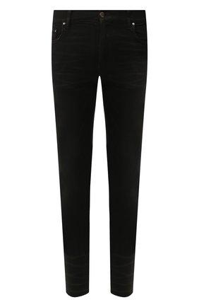 Мужские джинсы AMIRI черного цвета, арт. W9M01101SD | Фото 1