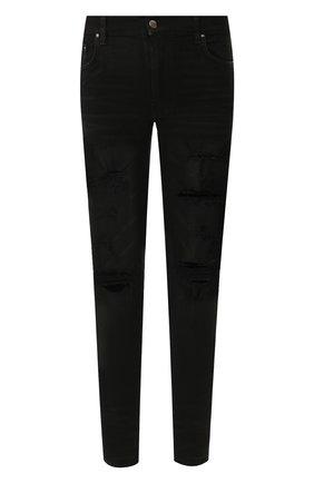 Мужские джинсы AMIRI черного цвета, арт. W9M01329SD | Фото 1