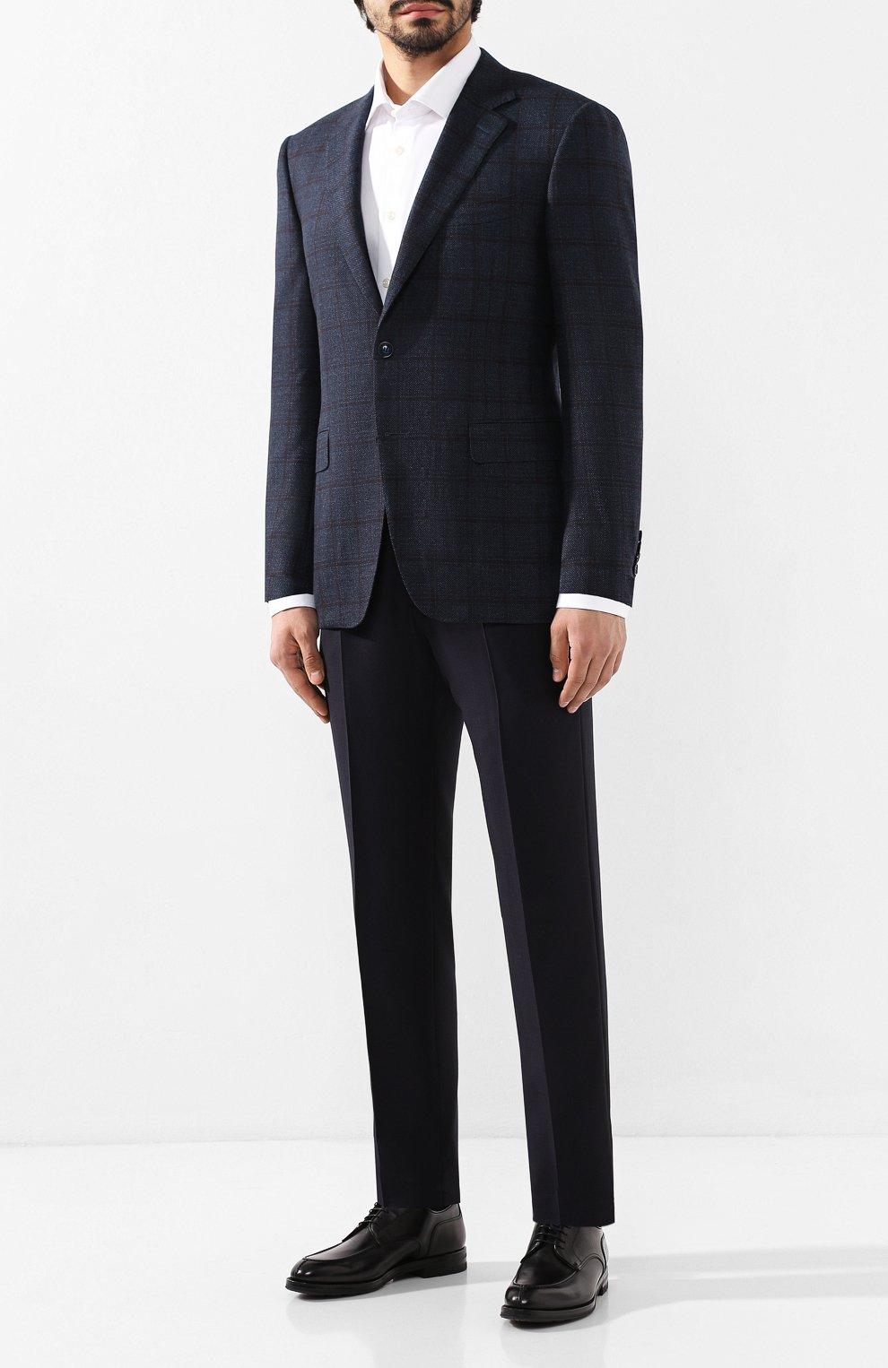 Мужские кожаные дерби W.GIBBS черного цвета, арт. 0639010/0149 | Фото 2