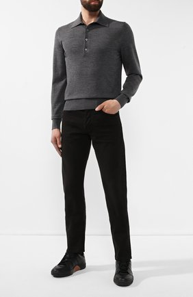 Мужские джинсы TOM FORD черного цвета, арт. BTJ33/TFD002 | Фото 2