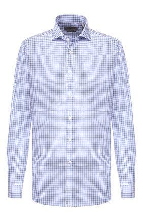 Мужская хлопковая сорочка CORNELIANI голубого цвета, арт. 84P002-9811436/00 | Фото 1