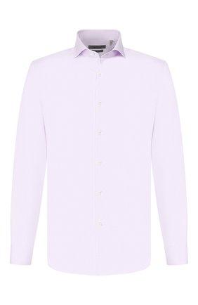 Мужская хлопковая сорочка CORNELIANI сиреневого цвета, арт. 84P002-9811624/00 | Фото 1