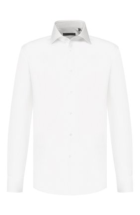 Мужская хлопковая сорочка CORNELIANI белого цвета, арт. 84P100-9811102/00 | Фото 1