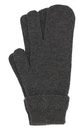 Перчатки из смеси шерсти и кашемира | Фото №1