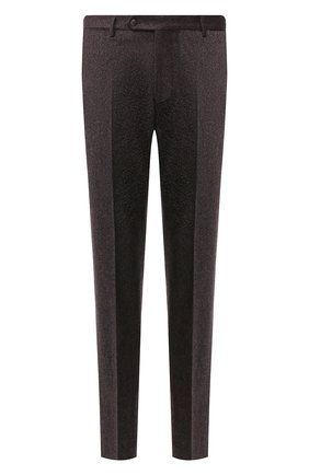 Мужской шерстяные брюки ANDREA CAMPAGNA коричневого цвета, арт. SC/1/AN1003 | Фото 1