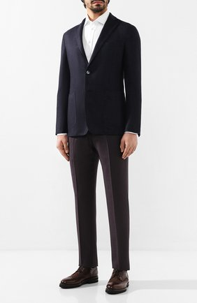 Мужской кашемировый пиджак ZILLI темно-синего цвета, арт. MNS-ECK1-2-B6647/M600 | Фото 2