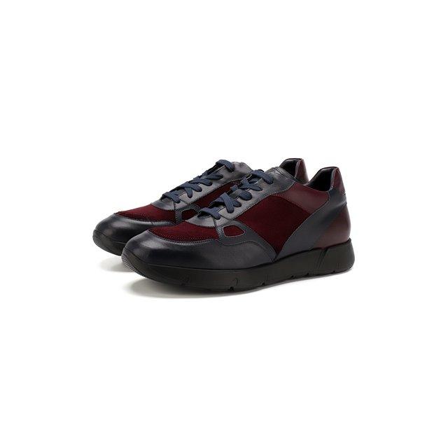 Кожаные кроссовки Andrea Campagna — Кожаные кроссовки