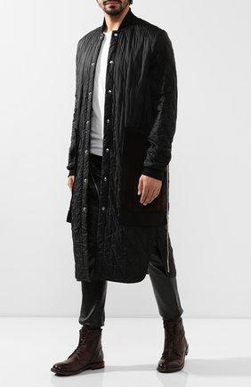 Мужские кожаные ботинки MOMA темно-коричневого цвета, арт. 2CW022-CUM | Фото 2