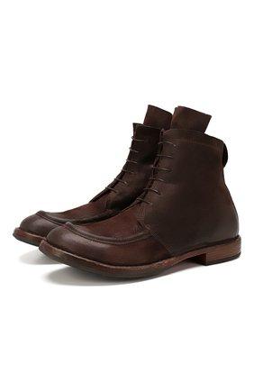 Мужские замшевые ботинки MOMA темно-коричневого цвета, арт. 2CW002-BEM | Фото 1