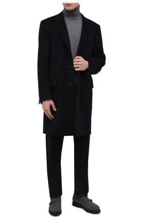 Мужские текстильные монки DOUCAL'S серого цвета, арт. DU1357DAK0UT032NN05 | Фото 2