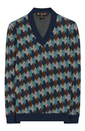 Пуловер из хлопка и кашемира с шелком | Фото №1
