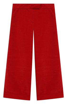 Детские хлопковые брюки DAL LAGO красного цвета, арт. R208/8740/13-16 | Фото 1