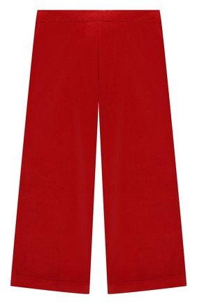 Детские хлопковые брюки DAL LAGO красного цвета, арт. R208/8740/13-16 | Фото 2