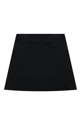 Детская хлопковая юбка DAL LAGO темно-синего цвета, арт. R301/8740/7-12 | Фото 1