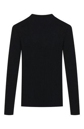 Детский шерстяной пуловер DAL LAGO темно-синего цвета, арт. R567/8325/7-12 | Фото 2