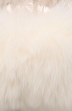 Шапка-ушанка с меховой отделкой | Фото №3