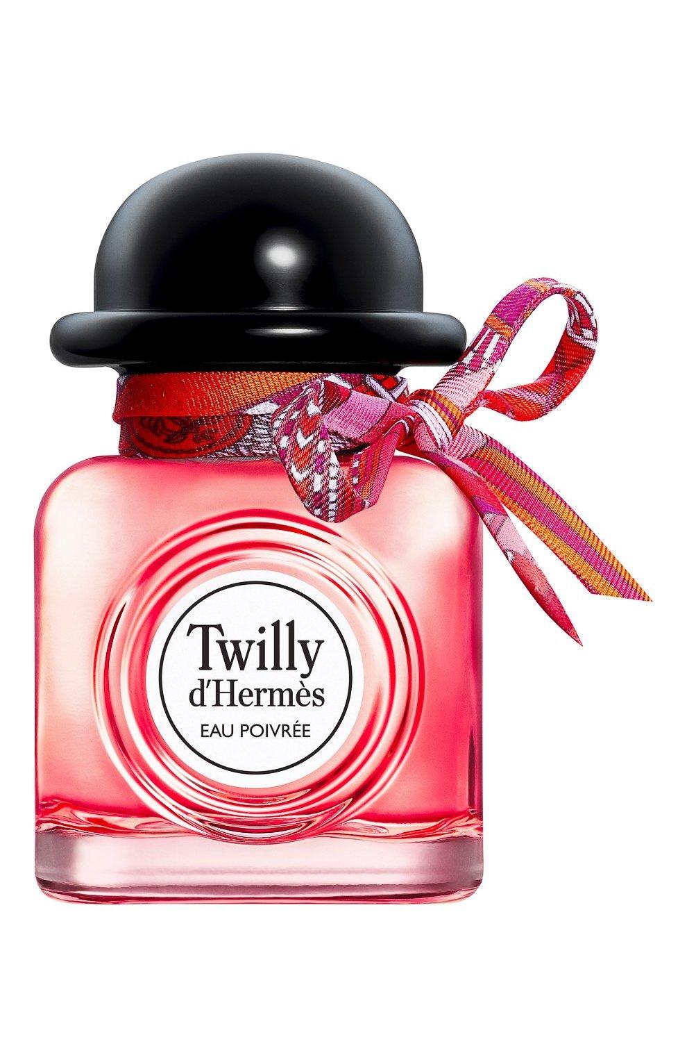 Женский парфюмерная вода twilly d'hermès eau poivrée HERMÈS бесцветного цвета, арт. 100805V0H   Фото 1