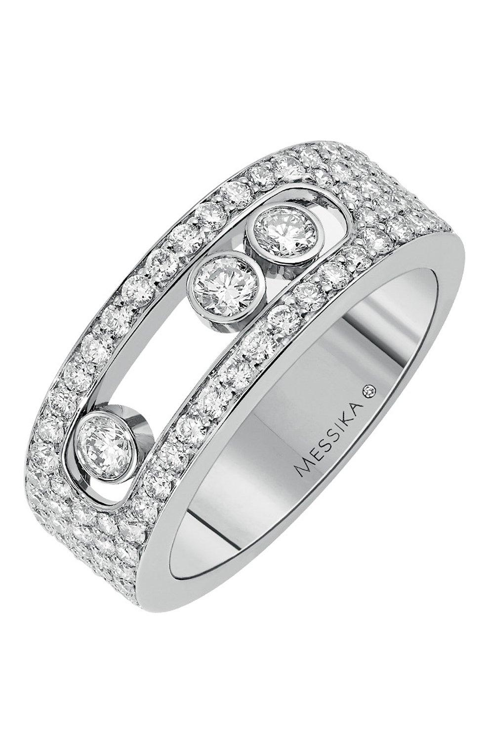 Женские кольцо MESSIKA белого золота цвета, арт. 04703-WG | Фото 1