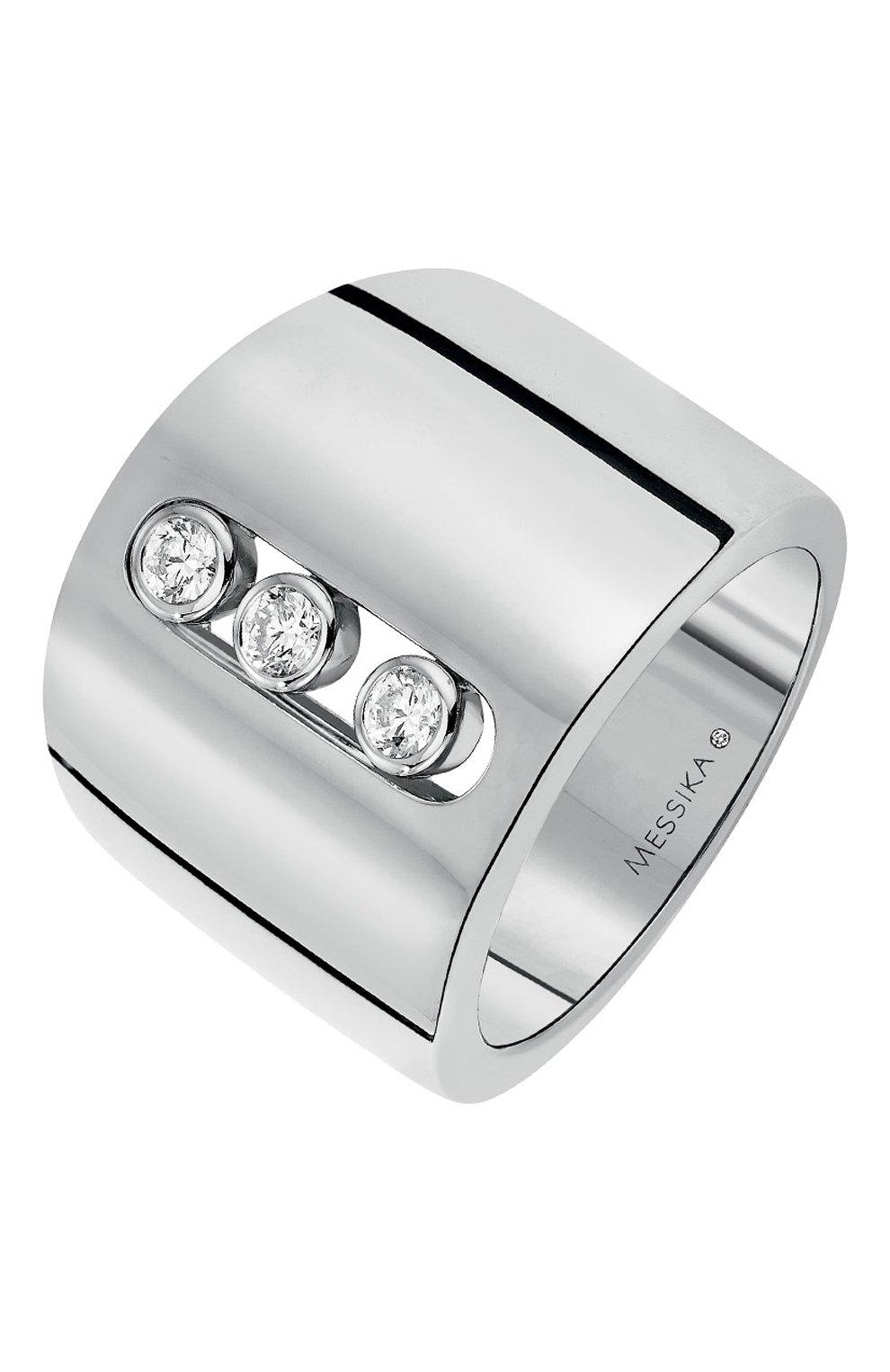Женские кольцо MESSIKA белого золота цвета, арт. 04702-WG | Фото 1