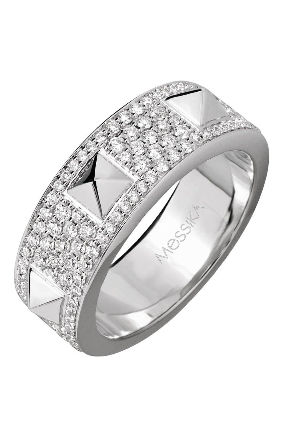 Женские кольцо MESSIKA белого золота цвета, арт. 05437-WG | Фото 1