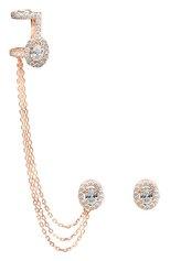 Женские серьги MESSIKA бесцветного цвета, арт. 05906-PG | Фото 1 (Материал сплава: Розовое золото; Драгоценные камни: Бриллианты)