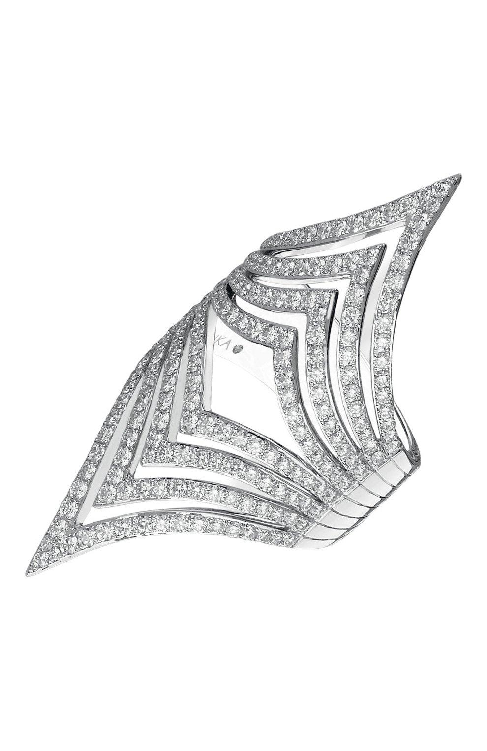 Женские кольцо MESSIKA белого золота цвета, арт. 05854-WG | Фото 1