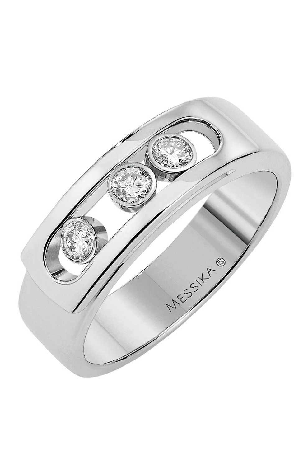 Женские кольцо MESSIKA белого золота цвета, арт. 06262-WG | Фото 1