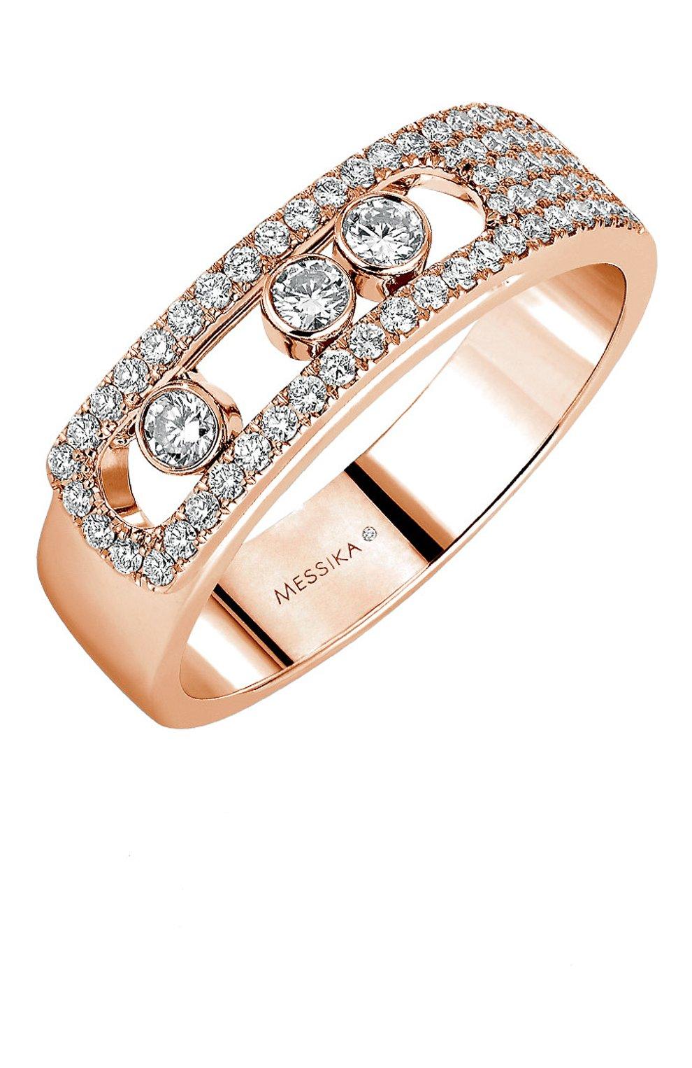 Женские кольцо MESSIKA розового золота цвета, арт. 06129-PG   Фото 1