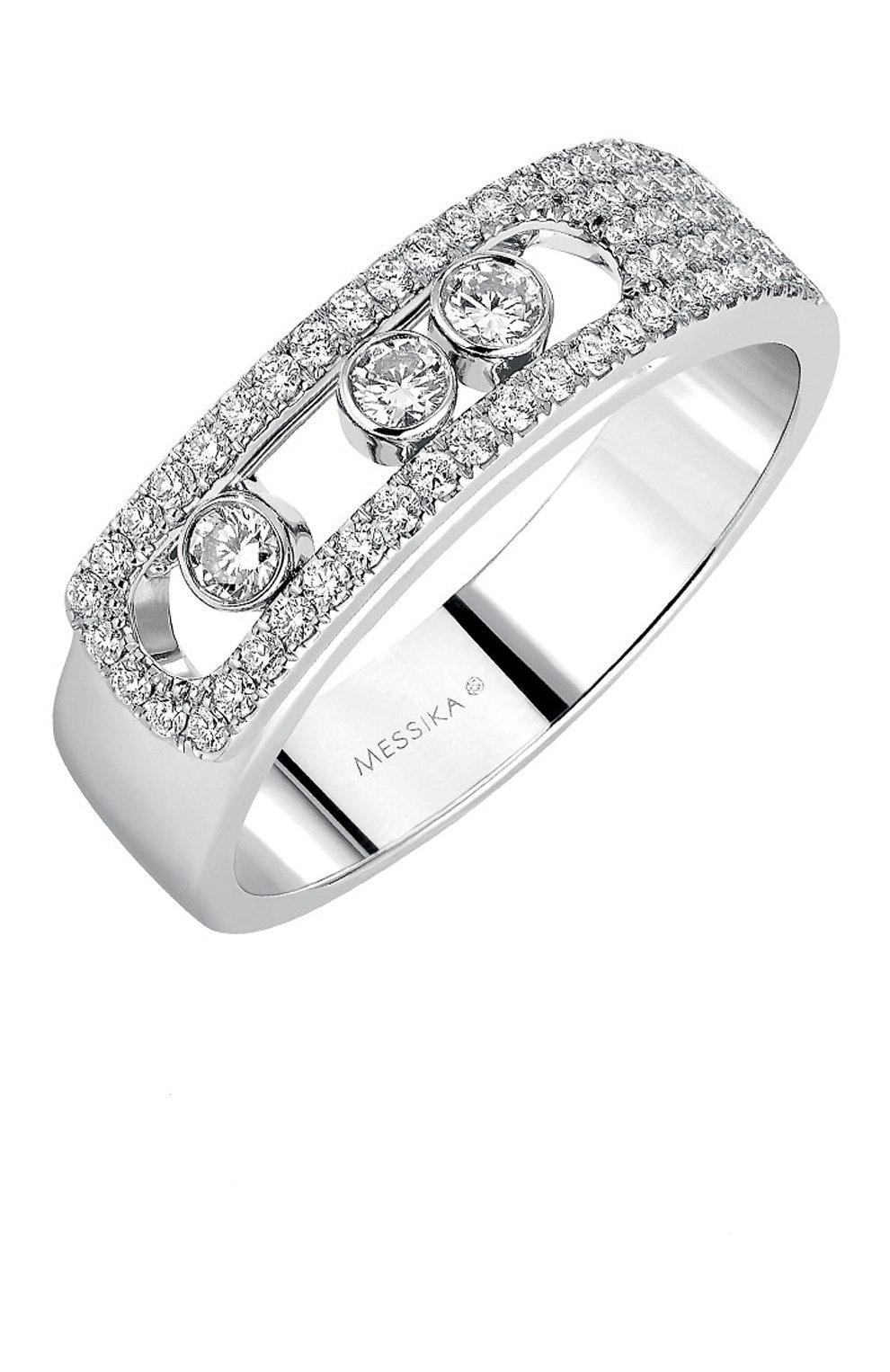 Женские кольцо MESSIKA белого золота цвета, арт. 06129-WG | Фото 1