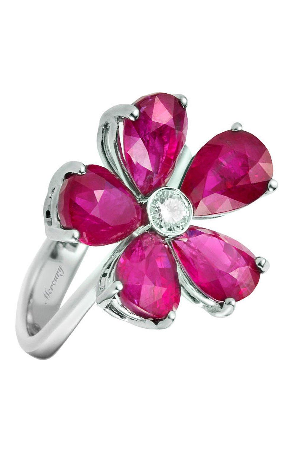 Женские кольцо MERCURY бесцветного цвета, арт. MR20990WDR | Фото 1