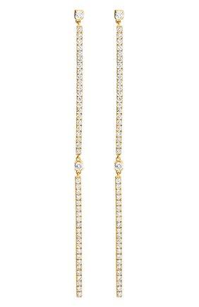 Женские серьги MESSIKA желтого золота цвета, арт. 05447-YG | Фото 1