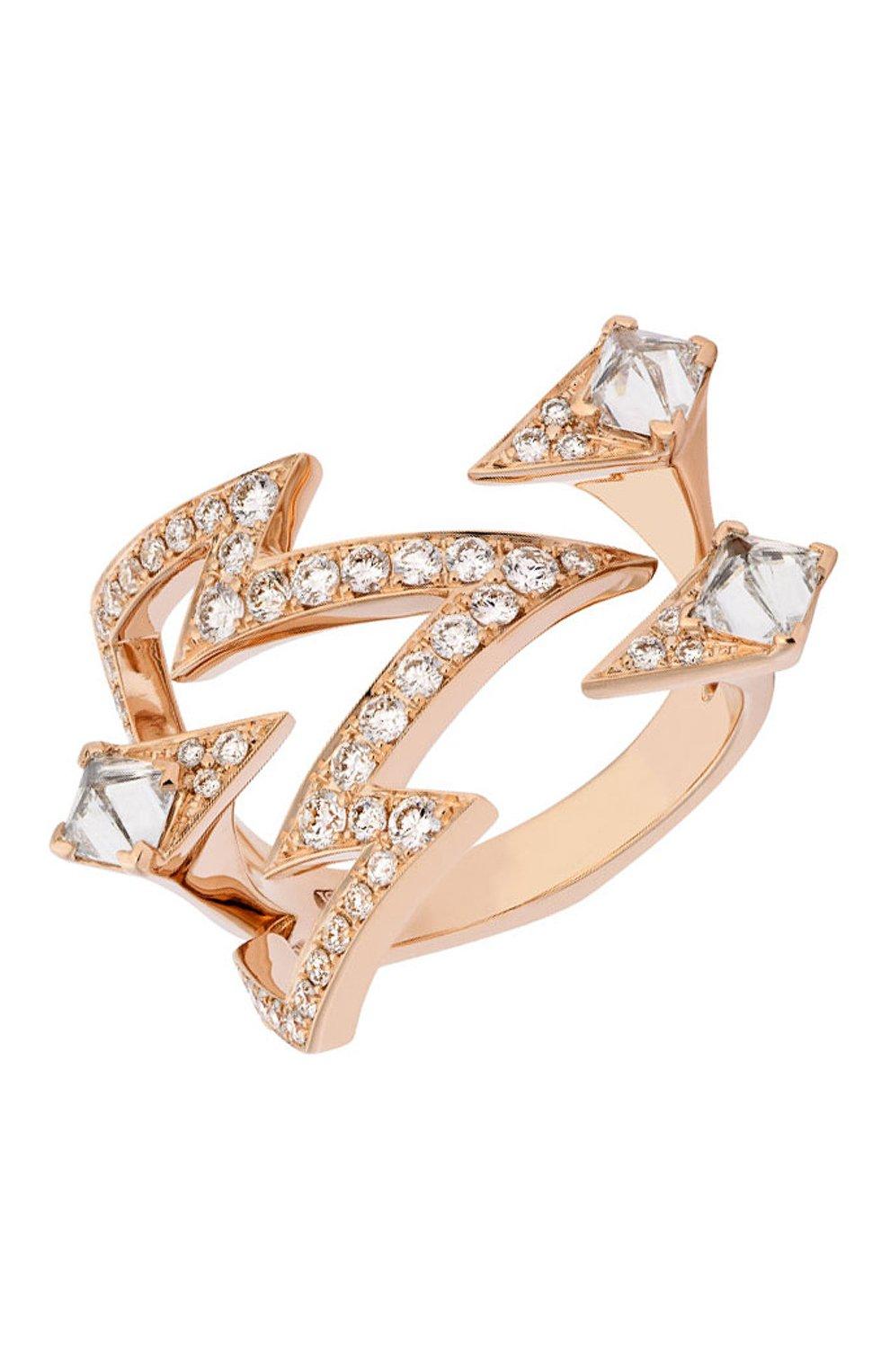 Женские кольцо STEPHEN WEBSTER розового золота цвета, арт. 3018754   Фото 1