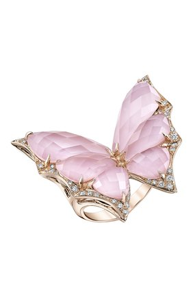 Женские кольцо STEPHEN WEBSTER розового золота цвета, арт. 3018328 | Фото 1