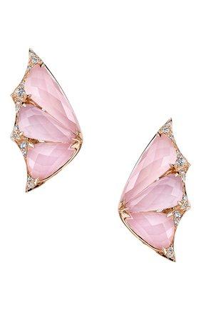 Женские серьги STEPHEN WEBSTER розового золота цвета, арт. 3018331001 | Фото 1