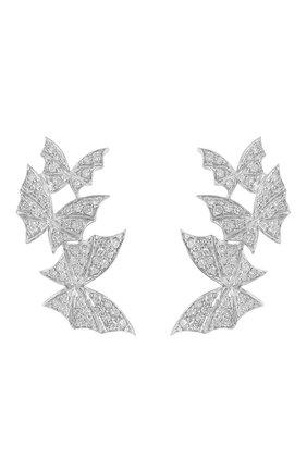 Женские серьги STEPHEN WEBSTER белого золота цвета, арт. 3019421   Фото 1