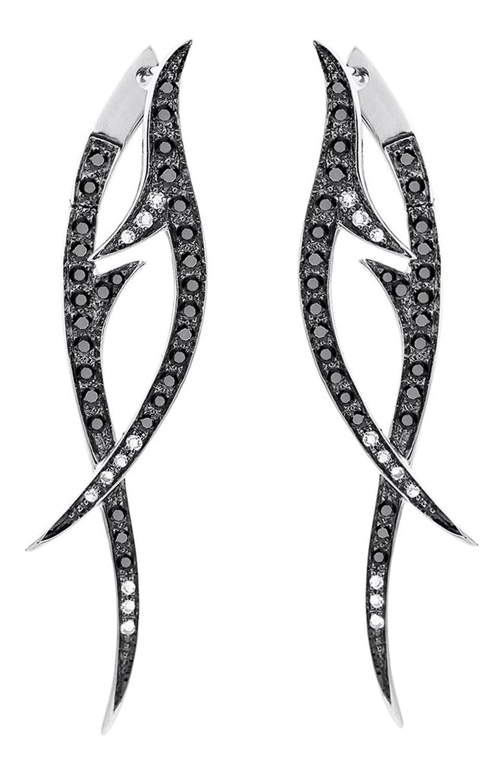 Женские серьги STEPHEN WEBSTER белого золота цвета, арт. 3017535 | Фото 1